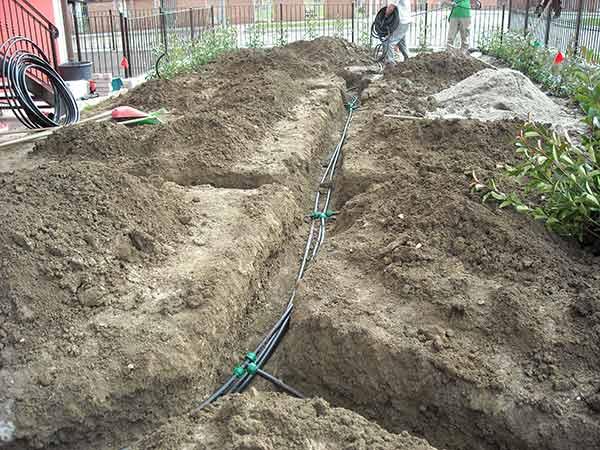 Impianti di irrigazione parma installazione posa for Costo impianto irrigazione interrato